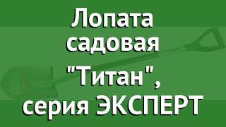 Лопата садовая Титан, серия ЭКСПЕРТ (ЗУБР) обзор 39418 бренд ЗУБР производитель Зубр ОВК (Россия)