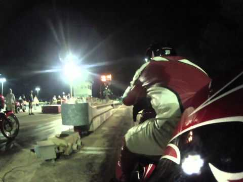 60X Rob Garcia and Crew Chief Wes Nyce at the RMC Raceway under the lights