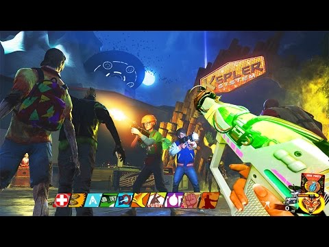 ALIENS VS YOUTUBERS - INFINITE WARFARE ZOMBIES EASTER EGG GAMEPLAY! (Zombies In Spaceland)