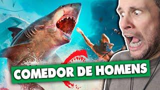 37 MINUTOS DE MANEATER | O JOGO DO TUBARÃO (Gameplay em Português PT-BR) #maneatergame