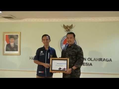 Menpora Menerima Audiensi team Sapuangin ITS Surabaya, 24 Januari 2018
