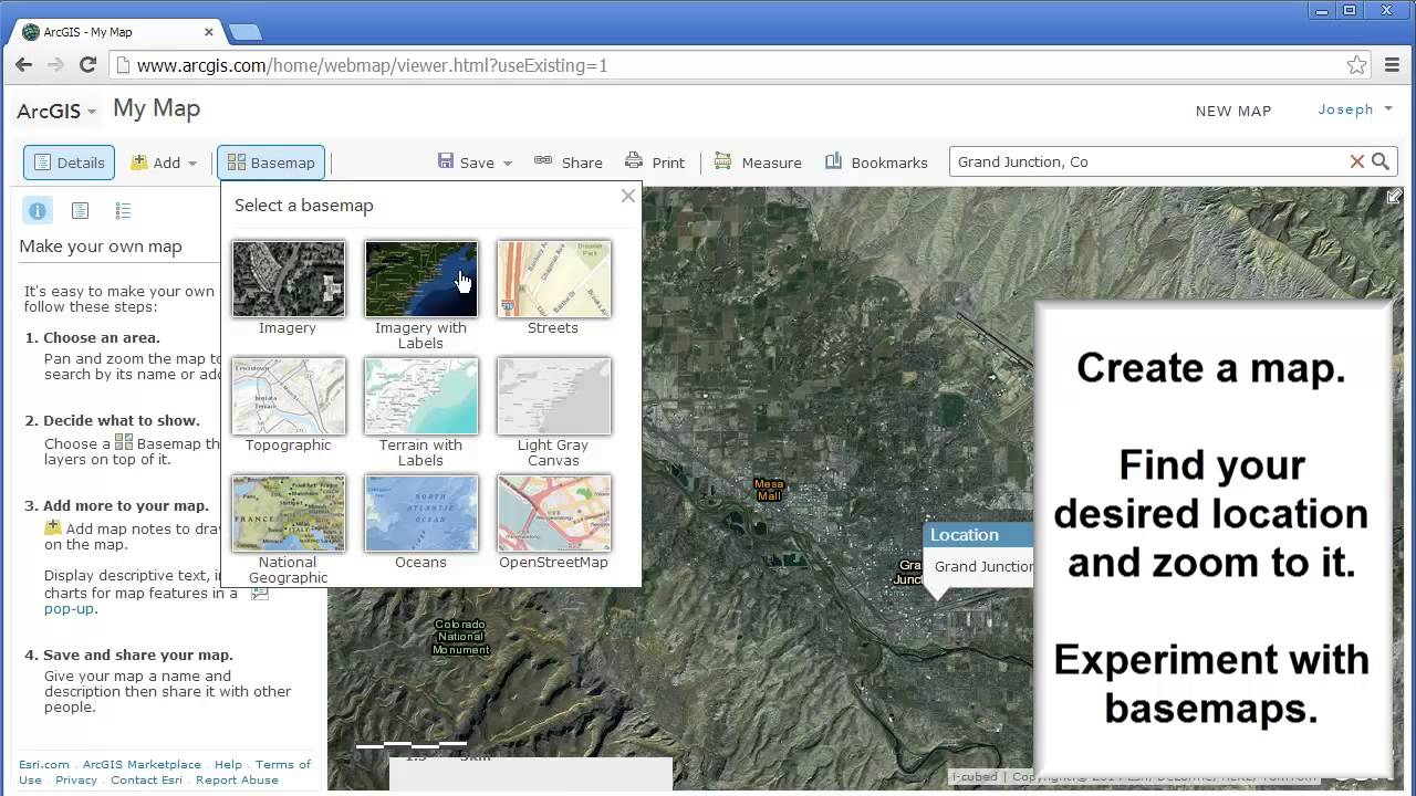 Mapping Your Route To School Using ArcGIS Online YouTube - Map your route