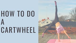 Cartwheel tutorial | gymnastics for beginners