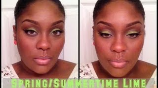 Eye Shadow Tutorial: Spring/Summertime Lime Thumbnail