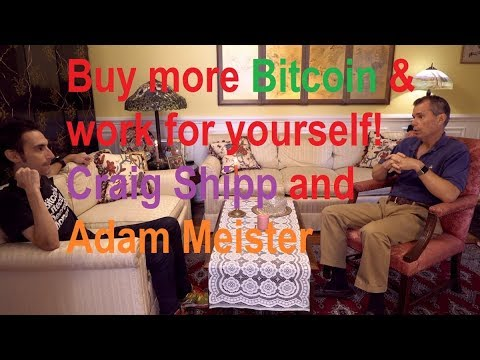 Bitcoin and entrepreneurial opportunities! Work for yourself and buy more BTC!