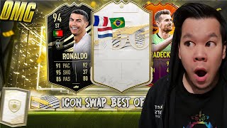 BEST OF COMMUNITY ICON SWAPS PACKS 🔥🔥 INKL. ICON PLAYER PICK, MID- PRIME ICON PACK USW. 😱 FIFA 21