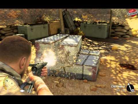 Демонстрация трейнера для Sniper Elite 3 [+6 - v1.01 - RLD]