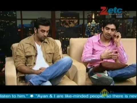 Ranbir Kapoor & Ayan Mukerji with Komal Nahta
