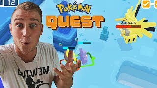 ZAPDOS ATAKUJE W POKEMON QUEST !