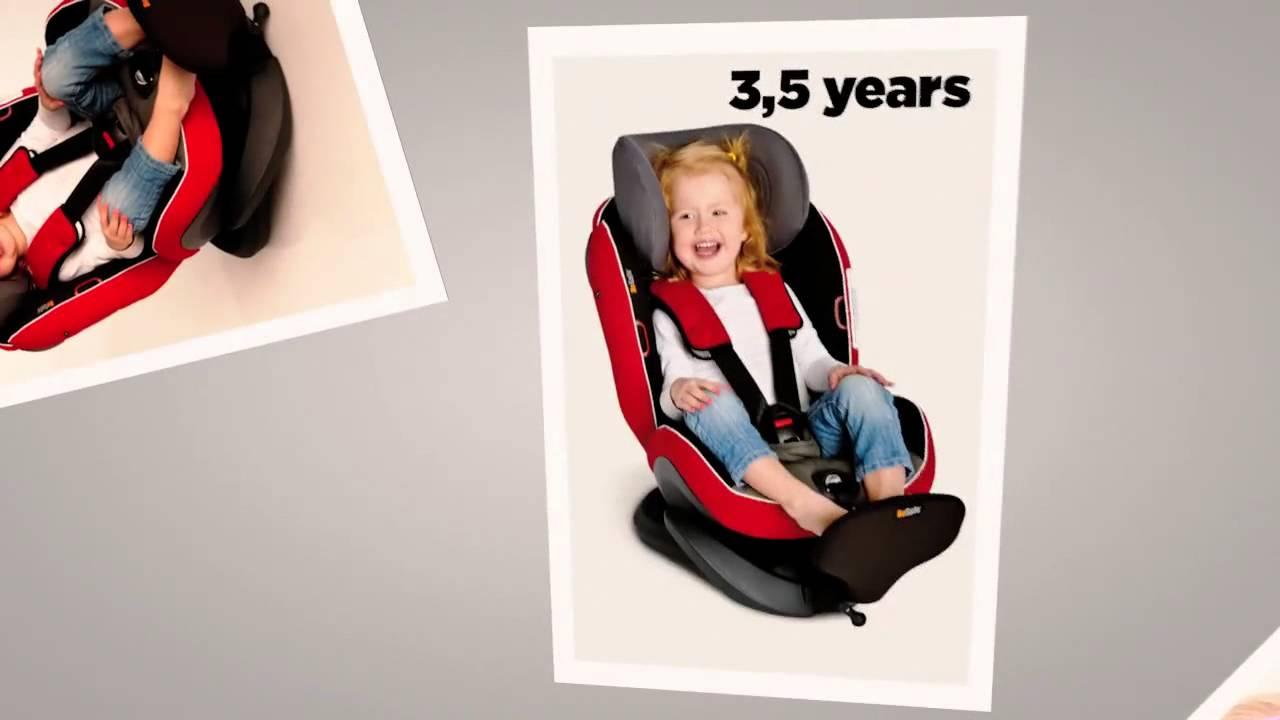 besafe izi plus child car seat youtube. Black Bedroom Furniture Sets. Home Design Ideas