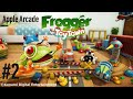 Let's Play: Frogger in Toy Town Part 2 Canon Rush (Apple Arcade)