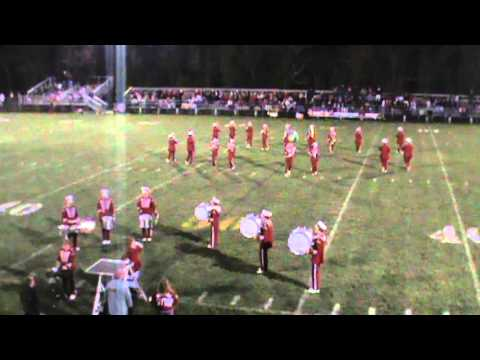 Wahama High School 2013 Drum Break @Buffalo High School