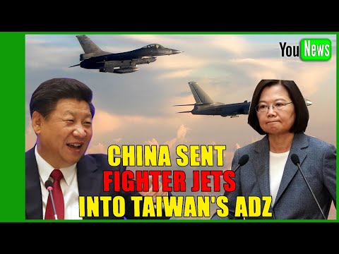 South China Sea: War fears surge as Beijing fighter jets enter airspace of US ally Taiwan again