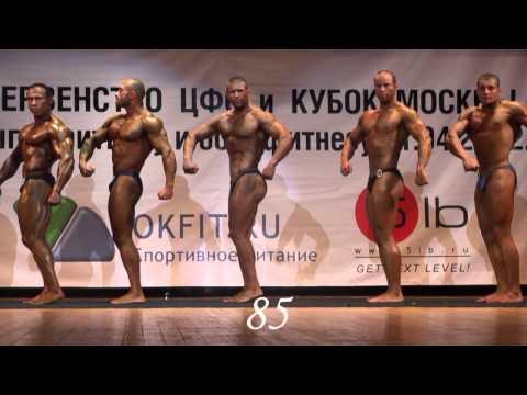 Кубок Москвы по бодибилдингу, 21.04.2012