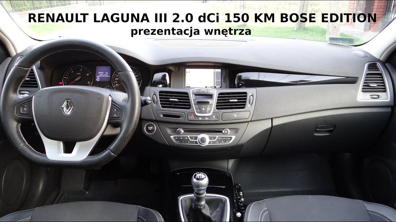 Renault Laguna Bose Edition 2011 - Prezentacja Wn U0119trza