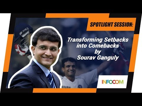Sourav Ganguly, Speaking @ INFOCOM 2015 Calcutta