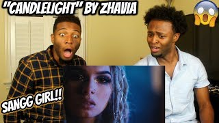 Zhavia - Candlelight (Official Video) (REACTION)