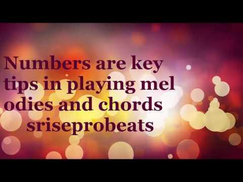 1 secret to making Melodies (srise formula)