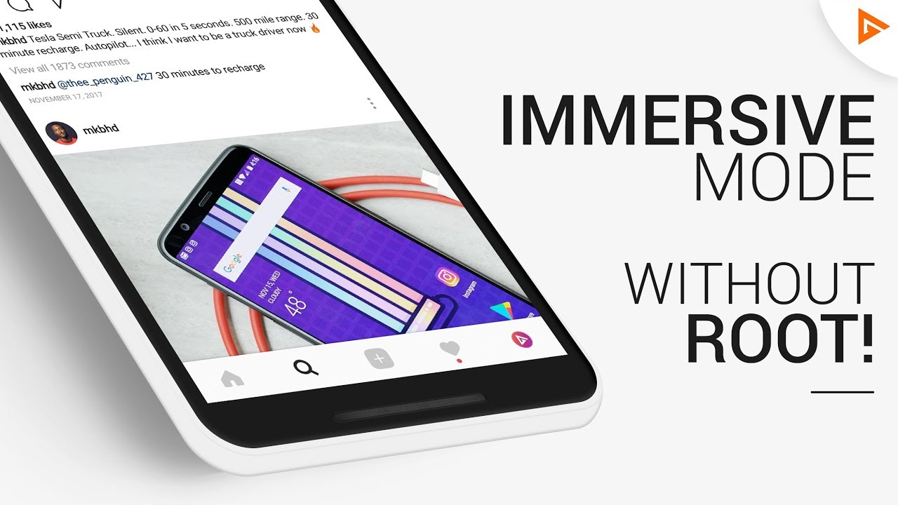 2 Ways to Get IMMERSIVE MODE on Android (Without Root)