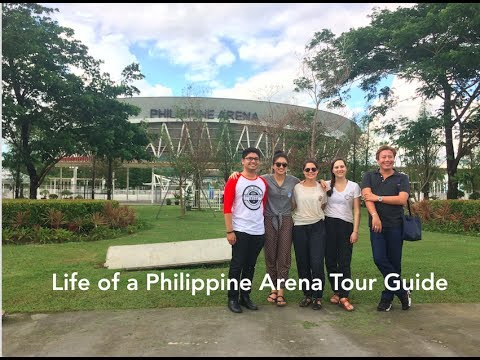 The Life of a Philippine Arena Tour Guide
