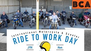 2018 Ride to Work Day Vlog