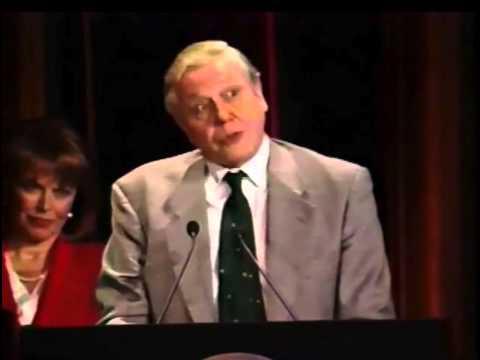 Sir David Attenborough & Pat Mitchell - The Private Life of Plants - 1995 Peabody Award