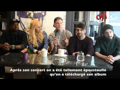"Pentatonix Interview: ""Stromae has been a real influence lately"""