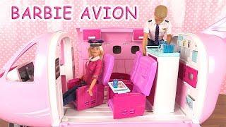 Barbie & Ken Avion de Luxe Déballage ♥︎ Barbie Airplane Toy Unboxing