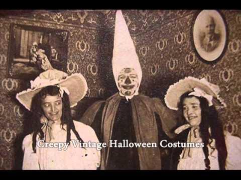 Creepy Vintage Halloween Costumes / Fotos antiguas de Halloween ...
