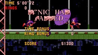 """[TAS] An Ordinary Sonic ROM Hack - Extra Levels """"Glitched"""""""