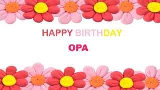 Opa   Birthday Postcards & Postales - Happy Birthday