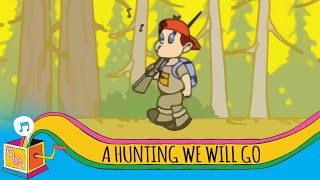 A Hunting We Will Go | Animated Karaoke