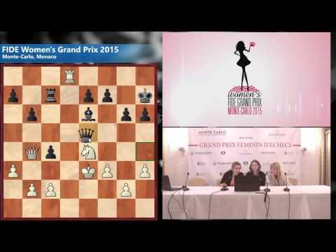 Round 6 Muzychuk Anna (UKR) 0 - 1 Skripchenko Almira (FRA)