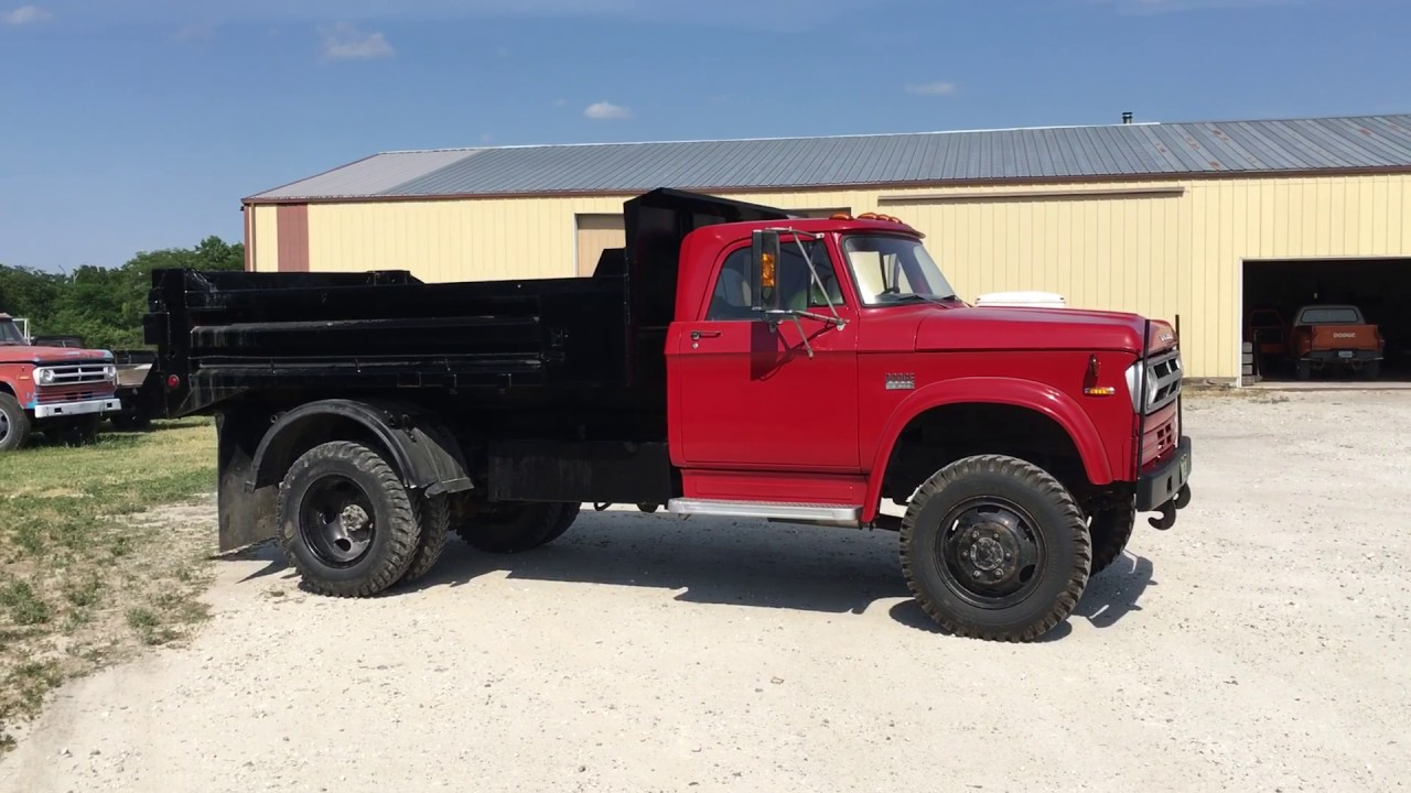 dodge w600 power wagon dump truck