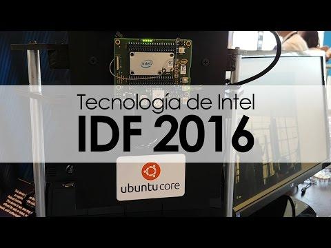 Inicia el Intel Developer Forum 2016
