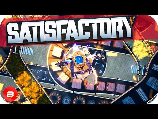 Set Loose on Alien Planet to Build Massive Factories in Satisfactory! (Satisfactory Gameplay)