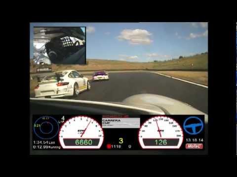 On-Board a Carrera Cup Car Around Sydney Motorsport Park