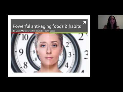 Powerful Anti Aging Foods and Habits