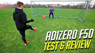 ultimate adidas f50 there will be haters test review by freekickerz