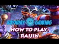 How To Play Raijin: Hyper Carry Build, Gameplay And Combo Guide! (SMITE) Season 3