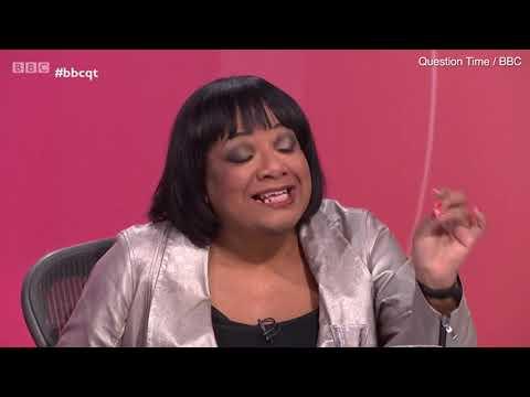 Diane Abbott clashes with Fiona Bruce and Isabel Oakeshott