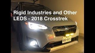 Rigid Industries LED SR-Q Series Pro | 2018 Crosstrek
