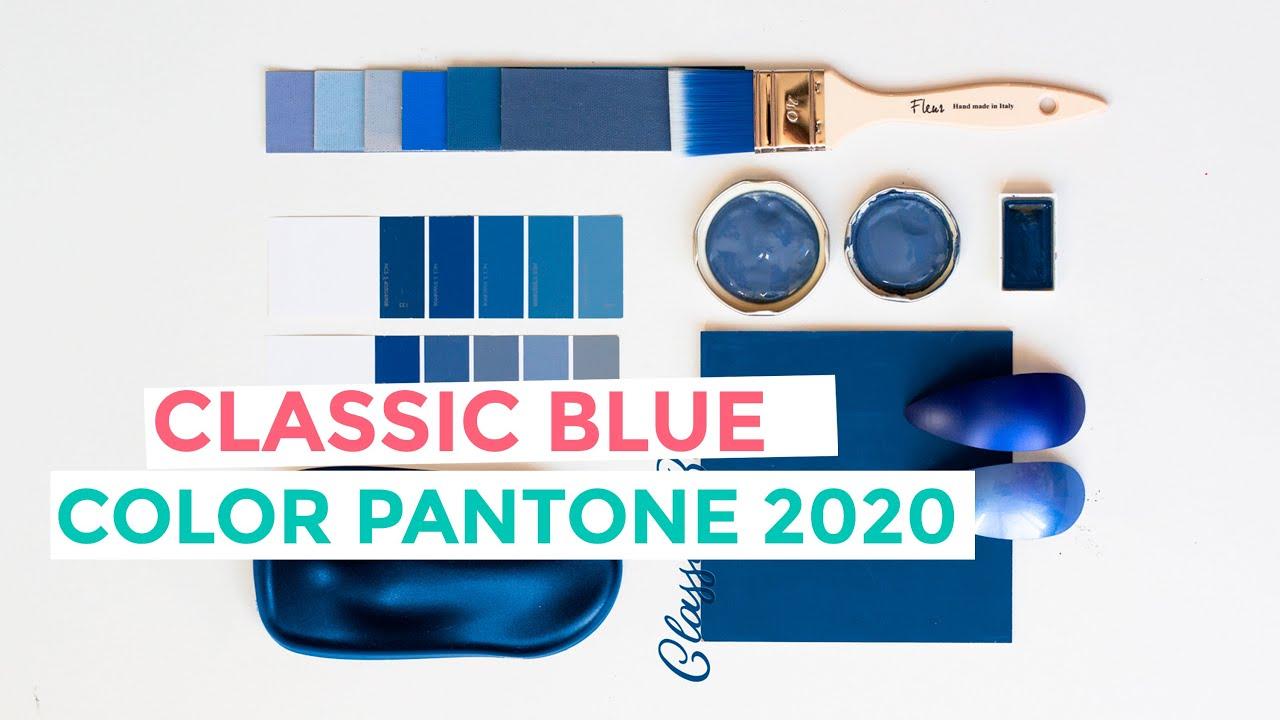 Cómo combinar el Classic Blue, color Pantone del año 2020