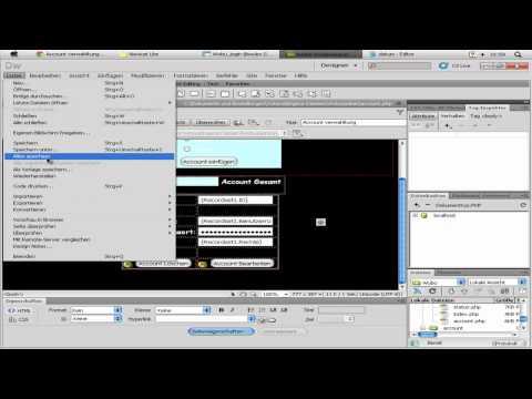 Dreamweaver Tutorial : Wunsch Box Script erstellen - DarkDino2010