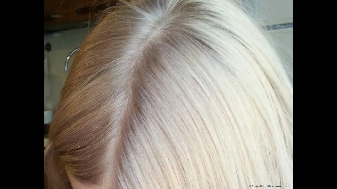 Краска для волос без желтизны номер