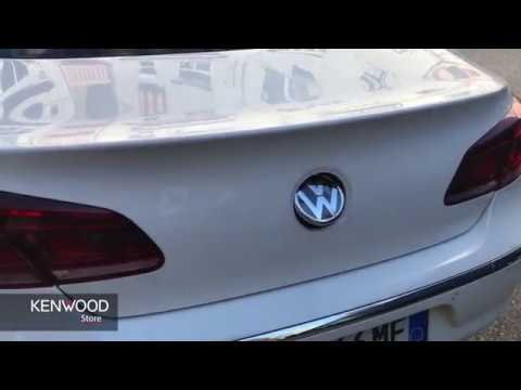 how to install rear view camera in vw passat cc 2012