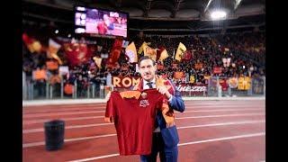 LIVE: Francesco Totti - Hall of Fame