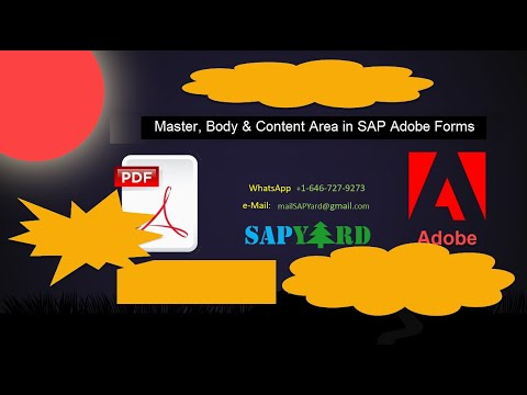 Understanding Master Page, Body Page & Content Area in SAP Adobe Forms