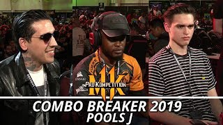 MK11: Combo Breaker 2019 Sylverye, Deoxys,Michaelangelo, MenaRD (Pools J)