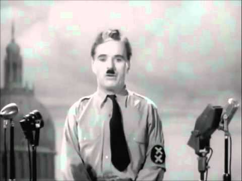 Charlie Chaplin - Final Speech in The Great Dictator / Inception (with mp3)